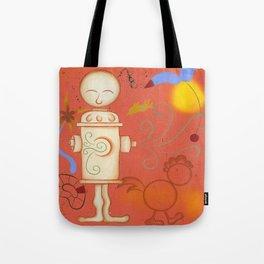 Lady Miro Hydrant Tote Bag