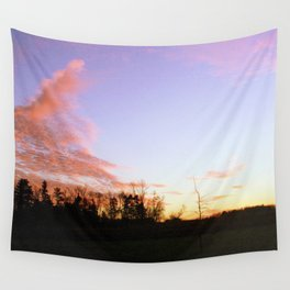 Pink Lavender Wall Tapestry
