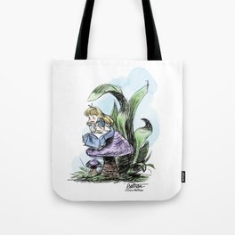 Pouty Alice - Watercolor Tote Bag