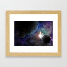 Space Age Framed Art Print