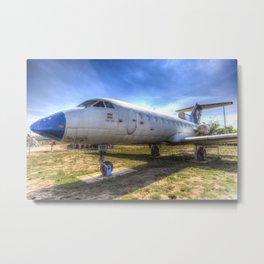 Jak-40 Aircraft Metal Print