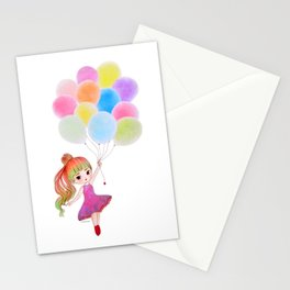 My Balloon Stationery Cards