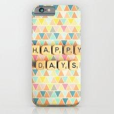 Happy Days iPhone 6s Slim Case