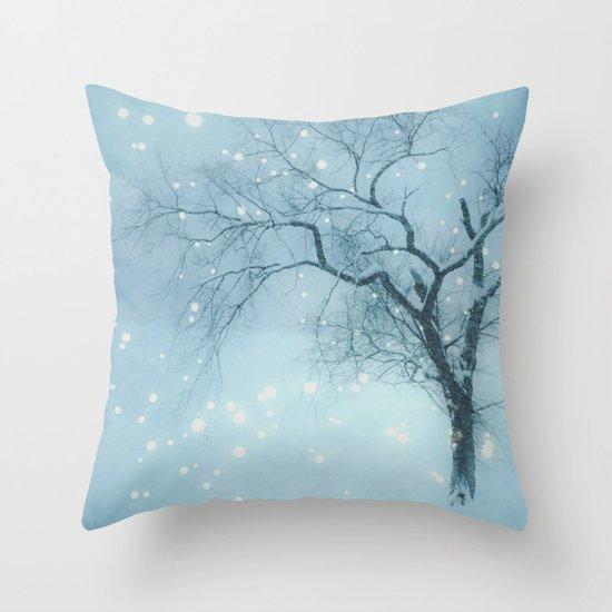 Night fall Throw Pillow