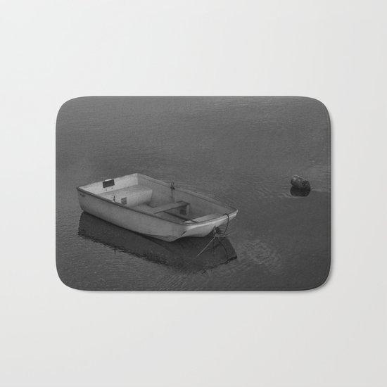 Boat B&W Bath Mat