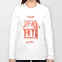 fish Long Sleeve T-shirts featuring Little Fish by Karl James Mountford