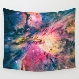 The awesome beauty of the Orion Nebula  Wall Tapestry