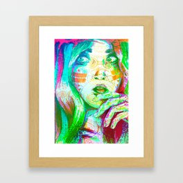 Energy Lines Framed Art Print
