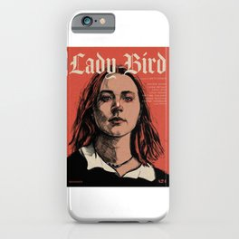 Lady Bird  iPhone Case