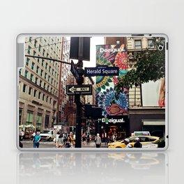 NYC Herald Square Laptop & iPad Skin