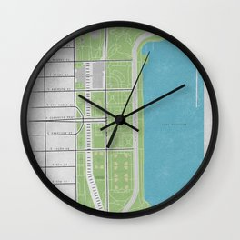 Parks of Chicago: Grant Park Wall Clock