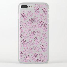 Ramitas Pink Clear iPhone Case