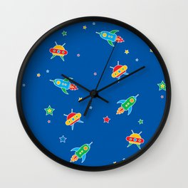 space encounters Wall Clock