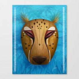 Spirit of the Cheetah Canvas Print