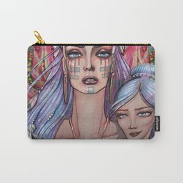 Women Who Run with the Wolves Carry-All Pouch