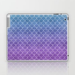 Mermaid Scales in Cotton Candy Laptop & iPad Skin