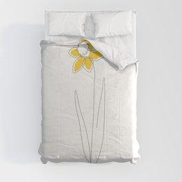 Mustard Daffodil Comforters