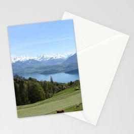 Lake Thun Bernese Oberland Switzerland Stationery Cards