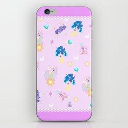 Pony Princess Print iPhone Skin