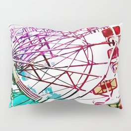 Ferris Wheel Love Pillow Sham