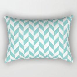 Tiffany Herringbone Pattern Rectangular Pillow