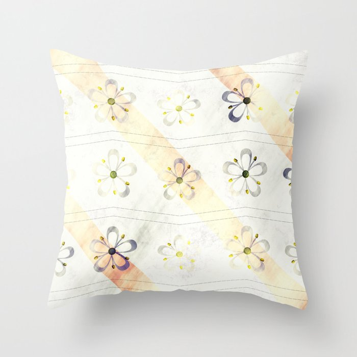 flower decent pattern throw pillow by loroartpictures With decent pillows