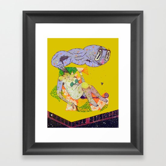 remedy hentai Framed Art Print