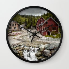 Down by the river Wall Clock