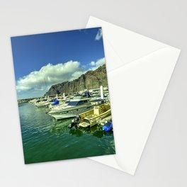 Los Gigantes marina Stationery Cards