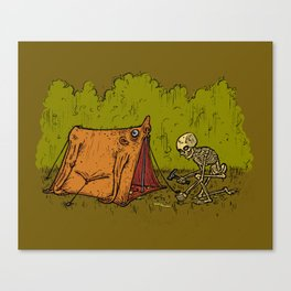 Skin Tent Canvas Print