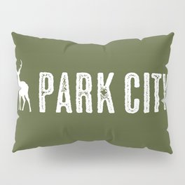 Utah: Park City Deer Pillow Sham