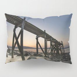 The old Peir at Holywood Pillow Sham
