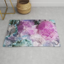 Cotton Candy Rock Crystal Rug