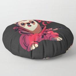 Little Rebel // Bella Ciao, Ferret, Money Heist Floor Pillow