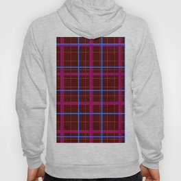 grid check layer_eggplant Hoody