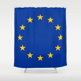 European Union EU Flag Shower Curtain