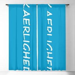 Kaerlighed, Danish Love Blackout Curtain