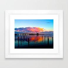 Long Wharf Framed Art Print