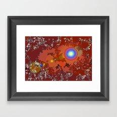 Cosmic Atlas Framed Art Print
