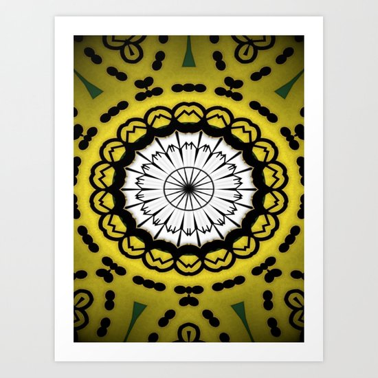 Design Patterns Art Print
