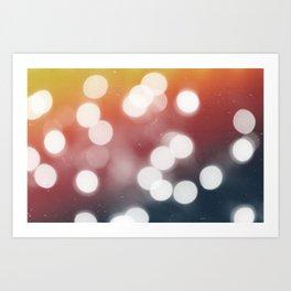 RAINBO-KEH Art Print