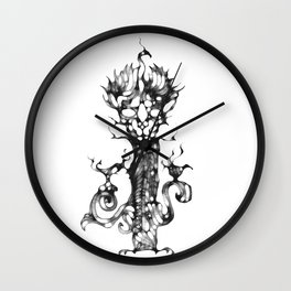 cool sketch 116 Wall Clock