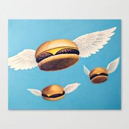 Burger Heaven Canvas Print