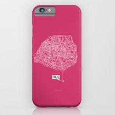 Spidermaps #1 Light iPhone 6s Slim Case