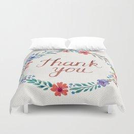 Thank you! Duvet Cover