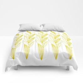 Eternity in Gold Leaf II Comforters