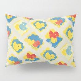 Rubber Duck Monoprint Pillow Sham