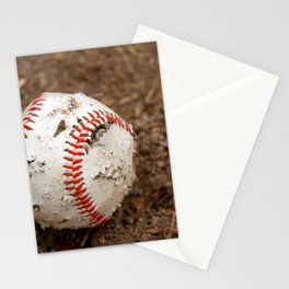 Old Baseball Stationery Cards