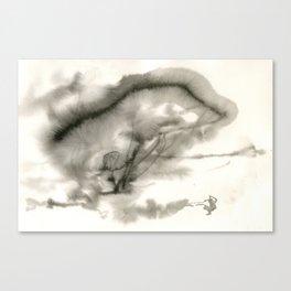 Spiegel im Spiegel II Canvas Print