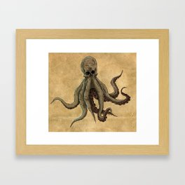 squidington Framed Art Print